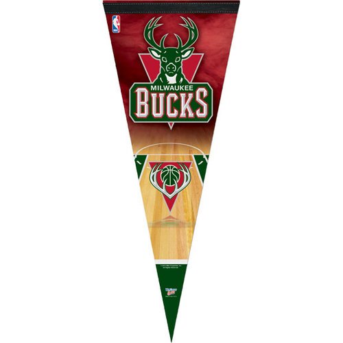 NBA - Milwaukee Bucks 12x30 Premium Pennant