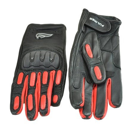 H2o Motorcycle Gloves - Men's Fulmer GT32 Street Sport Hard Knuckle Gloves TSC Motorcycle Riding