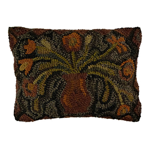 Homespice Decor Primitive Vintage Lumbar Pillow by Home Spice