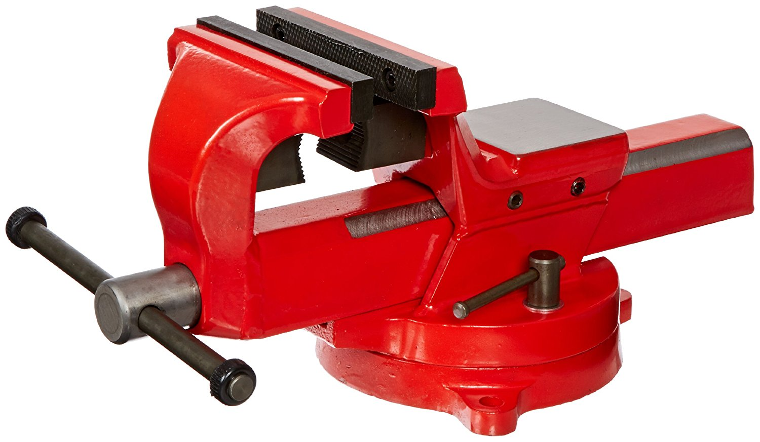 """Yost Vises FSV-5 5"""" Heavy-Duty Forged Steel Bench Vise with 360-Degree Swivel Base by Yost Vases"""