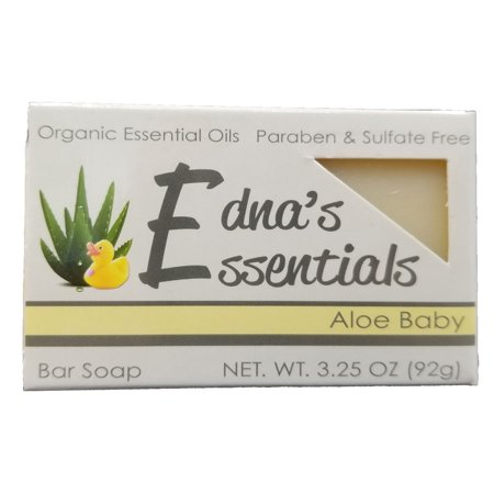 Edna's Essentials Bar Soap with Organic Essential Oils and