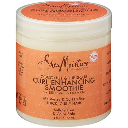 SheaMoisture Coconut & Hibiscus Curl Enhancing Smoothie, 6 fl oz
