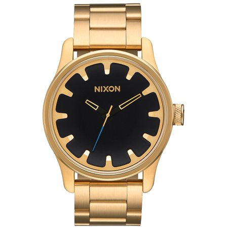 Nixon Driver Gold Tone Stainless Steel Mens Watch A979510