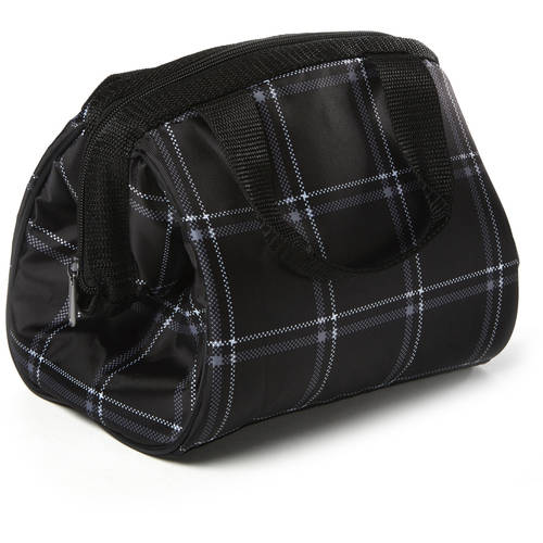 Lunch On The Go Zip Top Insulated Lunch Bag, Multiple Colors