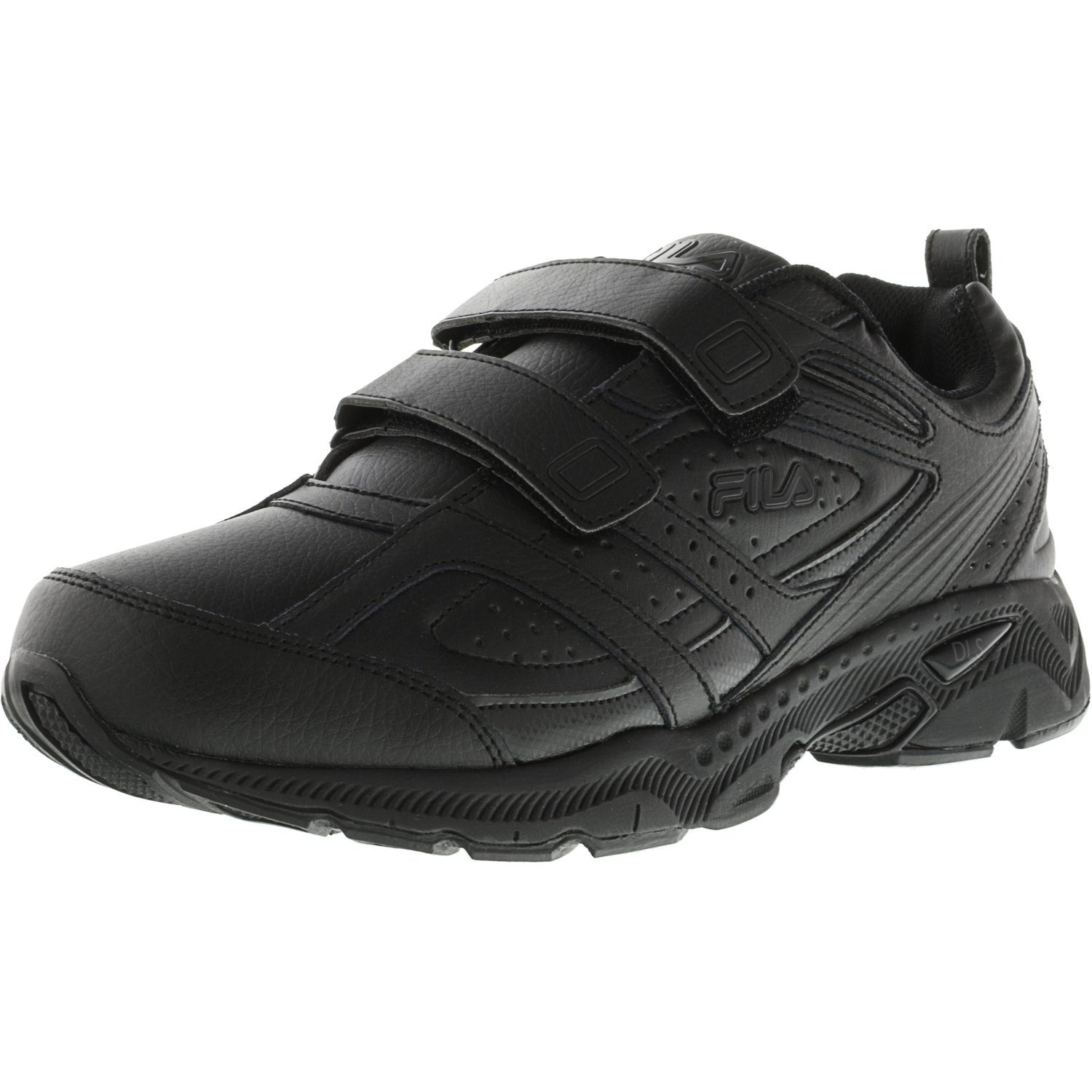 Fila Men's Memory Capture 2 Strap Black / Ankle-High Running Shoe - 11W
