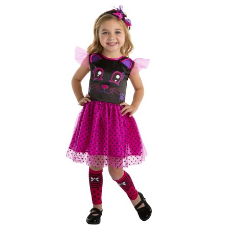 Toddler Kitty Cat Cutie 3T-4T Halloween Dress Up / Role Play Costume