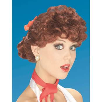 50s Style Wigs (50'S HOUSEWIFE WIG-AUBURN)