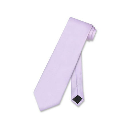 Vesuvio Napoli NeckTie Solid Lavender Purple Color Men