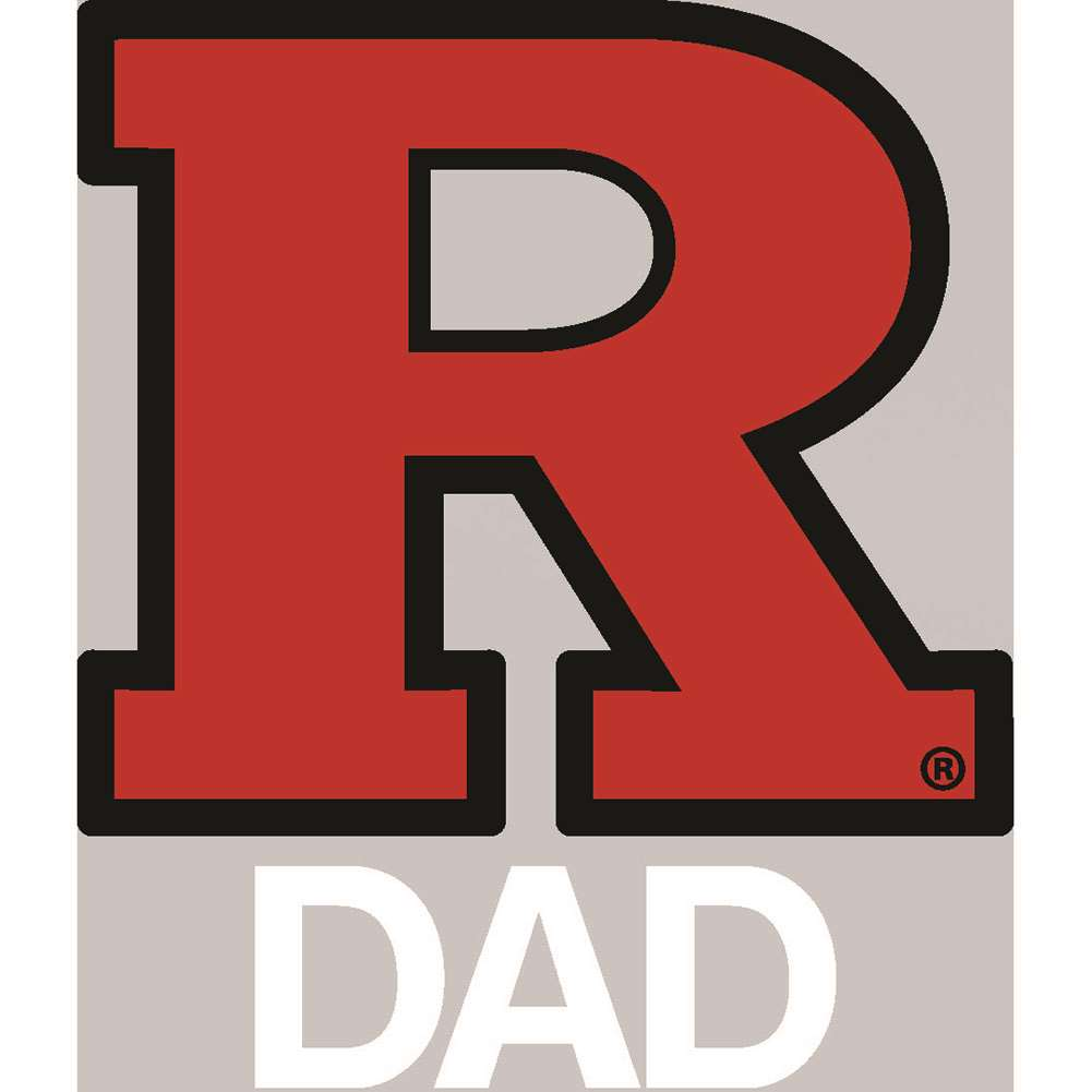 Rutgers Scarlet Knights Transfer Decal - Dad