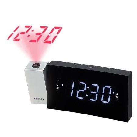 JENSEN JCR-238 Digital Dual-Alarm Projection Clock