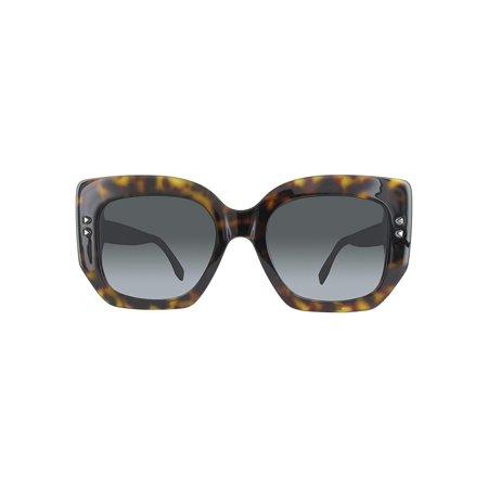 Fendi FF0267S 0086 Dark Havana Square Sunglasses