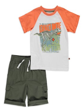 Freestyle Toddler Boys T-shirts & Shorts, 2-Piece Outfit Set (2T-4T)