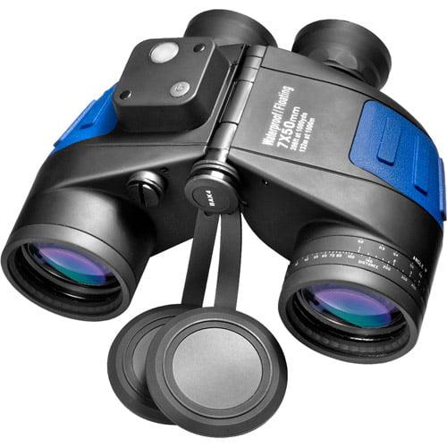 Barska 7x50 WP Floating Deep Sea Binoculars with Internal Rangefinder and Compass