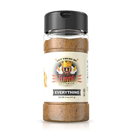 Flavor God #1 Best-Selling, Everything Seasoning, 1 Bottle, 5 (Bill's Best Chik Nish Seasoning)