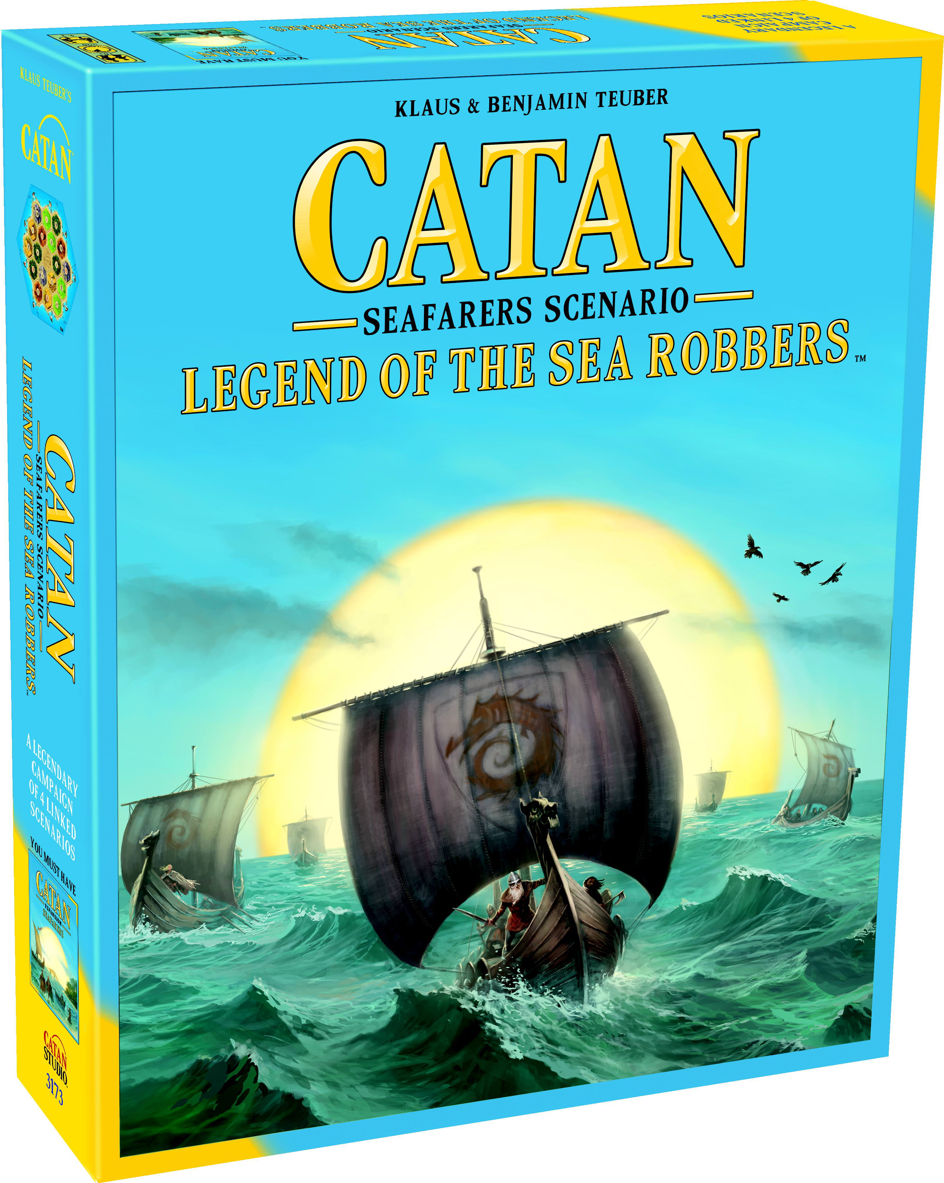Catan: Legend of the Sea Robbers Strategy Board Game