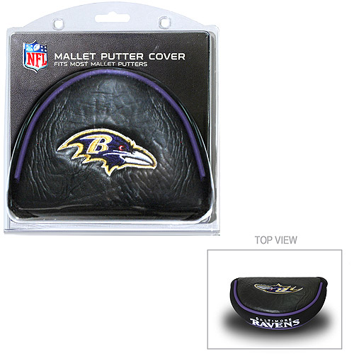Team Golf NFL Baltimore Ravens Golf Mallet Putter Cover
