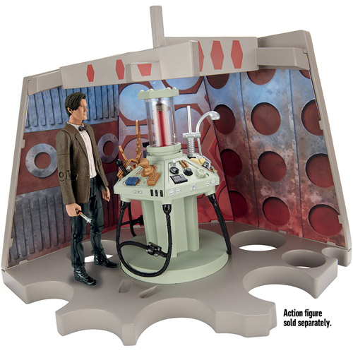 Doctor Who Junk Tardis Console Playset (Figure Not Included)