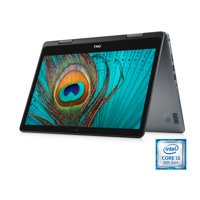 Dell Inspiron 14 5481 2-in-1 Touchscreen Laptop, 14'', Intel Core i3-8145U, 8GB RAM, 256 GB SSD, Intel UHD Graphics 620, Windows 10 Home, i5481-3083GRY-PUS