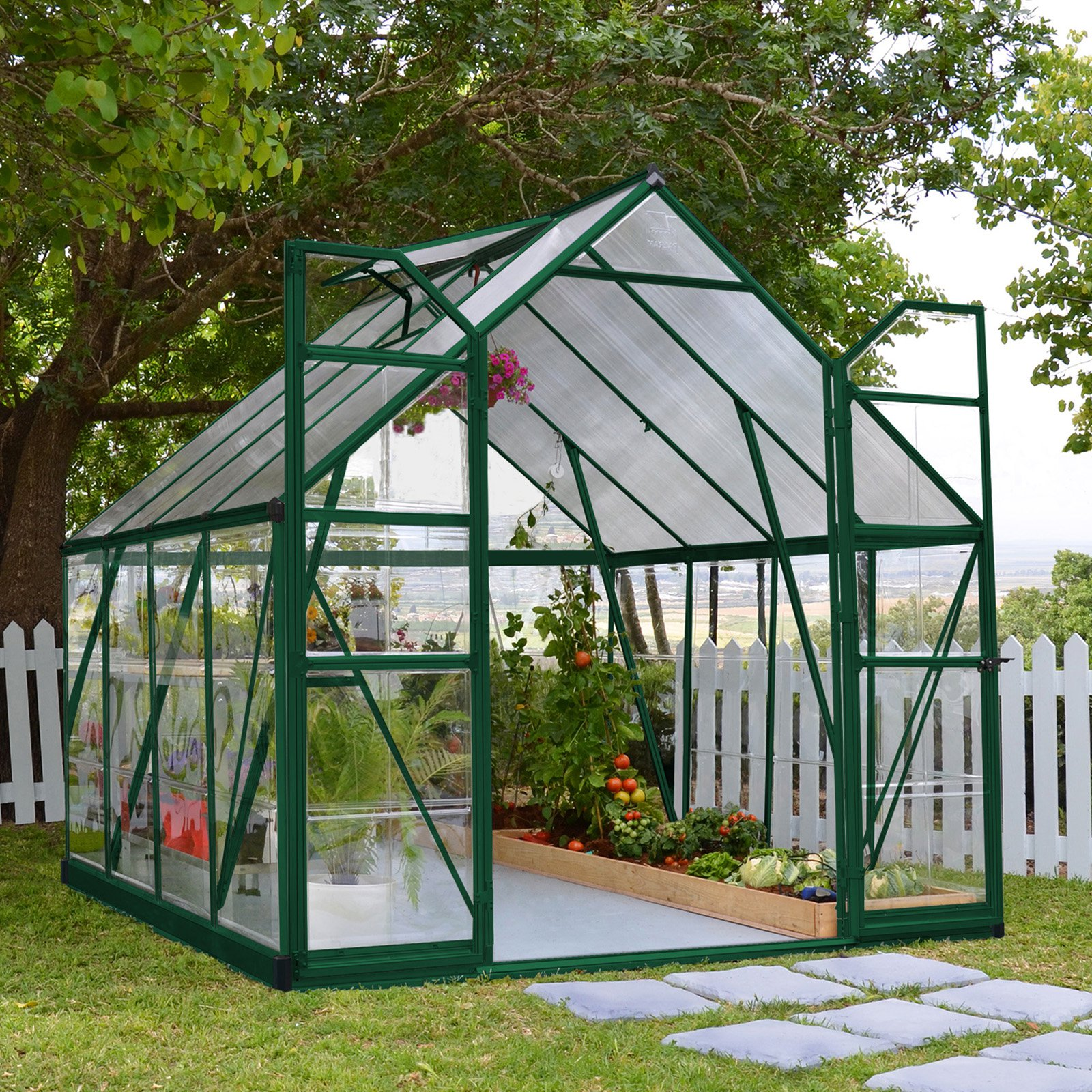 Green Balance 8' x 8' Greenhouse by Palram