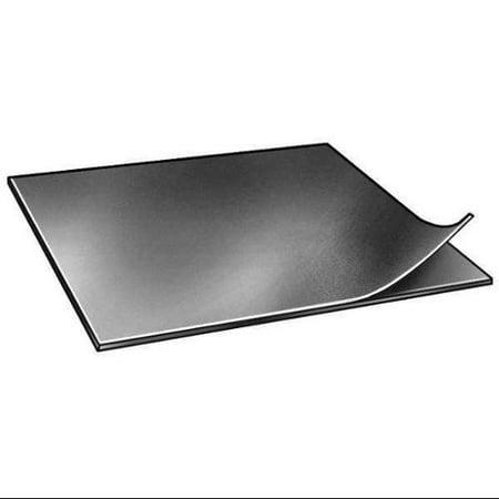 6050-3/16ATAPE Rubber, Neoprene, 3/16 In Thick, 12 x 12 In