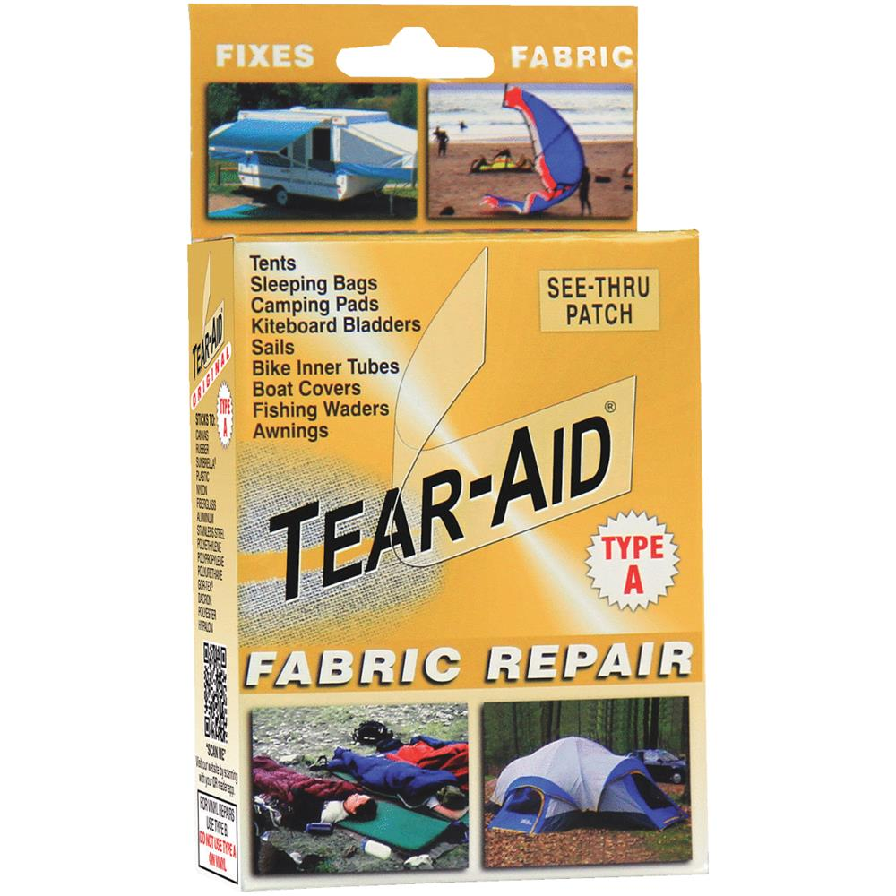 Tear-Aid Fabric Repair Patch Kit, Gold, Type A