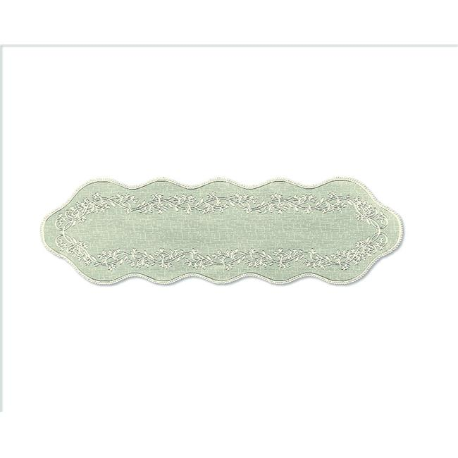 Ecru 7185E-4524 Heritage Lace Dragonfly 45-Inch Wide by 24-Inch Drop Tier