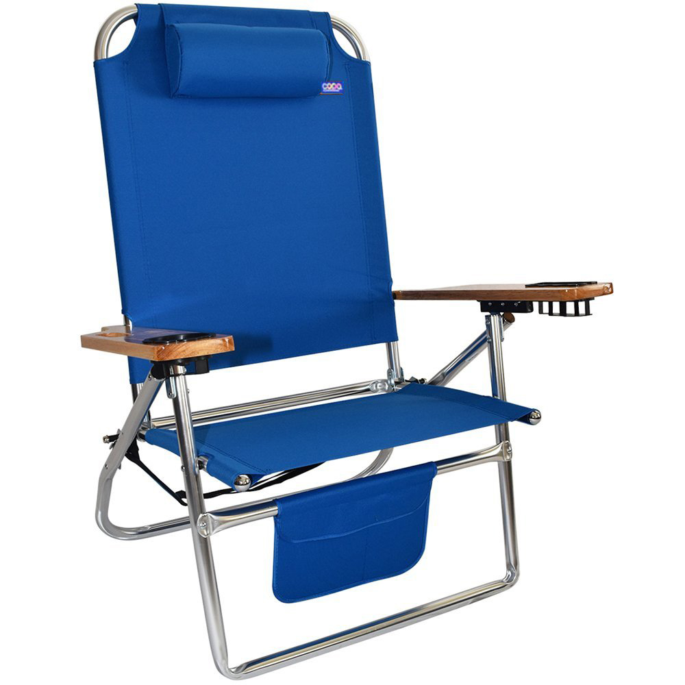 Big Fish Titan Hi-Seat Aluminum Folding Beach Chair