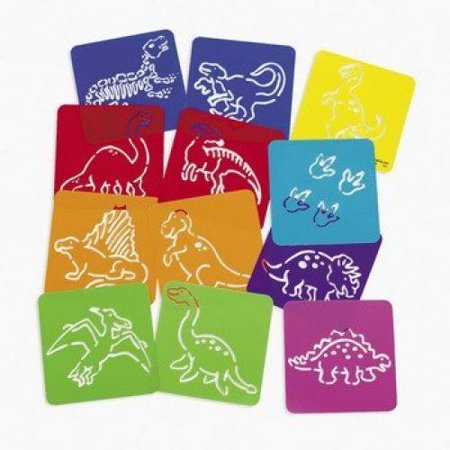 Dozen Plastic Dinosaur