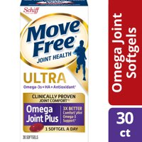 Move Free 353 mg, 30 ct Ultra Omega Joint Comfort + Krill Oil and Hyaluronic Acid Softgels