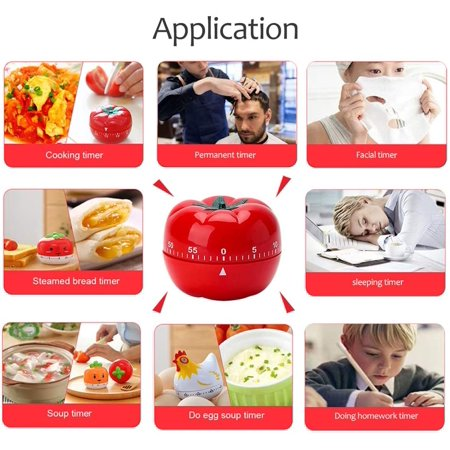 Novelty Kitchen Timer Mechanical Rotating Alarm For Cooking Baking Chicken Walmart Canada