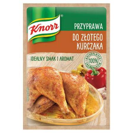 Knorr Przyprawa do Zlotego Kurczaka Rotisserie Chicken Seasoning 23g Bag - Chicken On Rotisserie