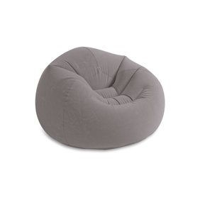 Fantastic Intex Beanless Bag Inflatable Chair 42 X 41 X 27 Beige Andrewgaddart Wooden Chair Designs For Living Room Andrewgaddartcom