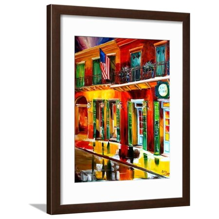 Outside Pat O Briens Bar Framed Print Wall Art By Diane