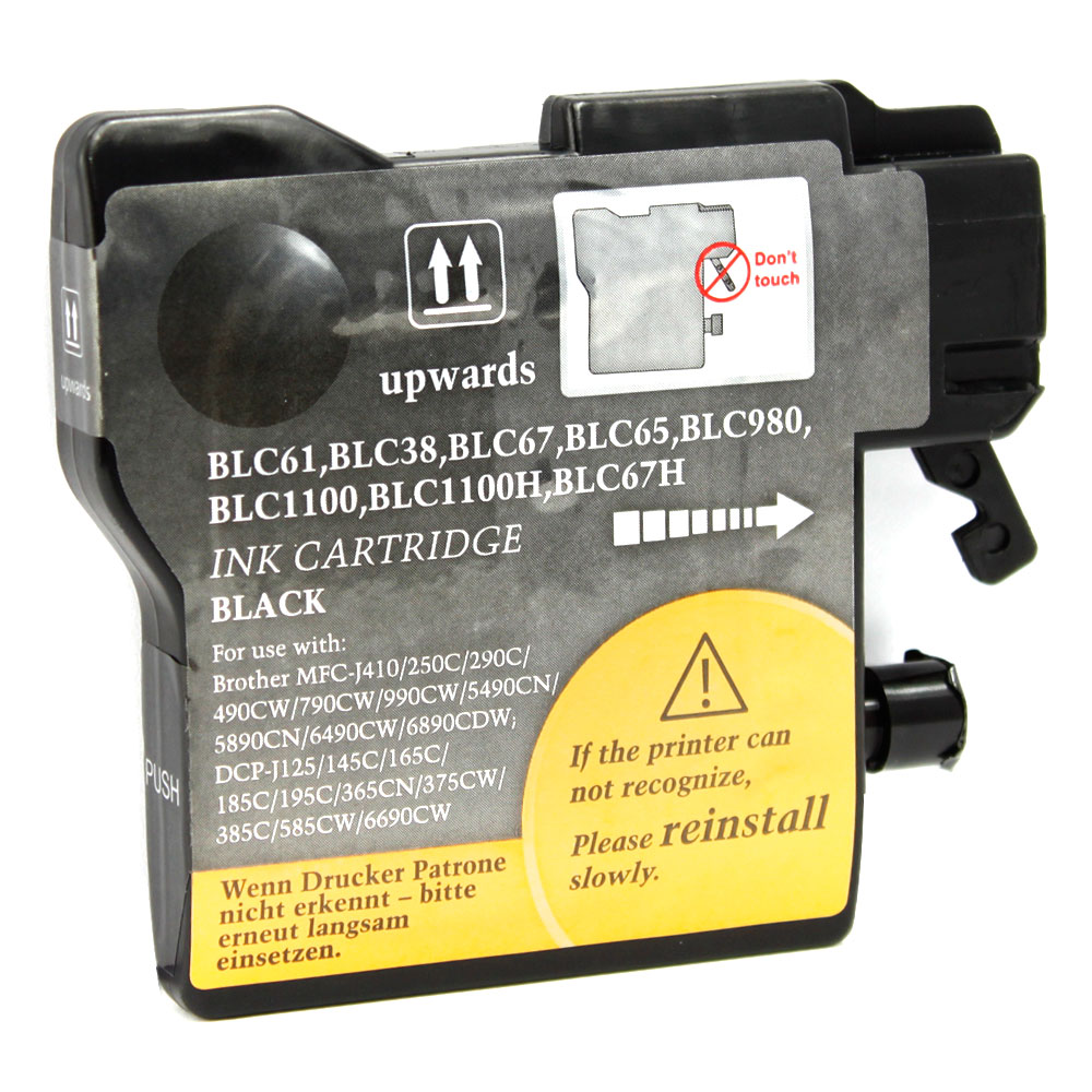 BROTHER MFC J630W INK CARTRIDGE (BLACK) (COMPATIBLE)