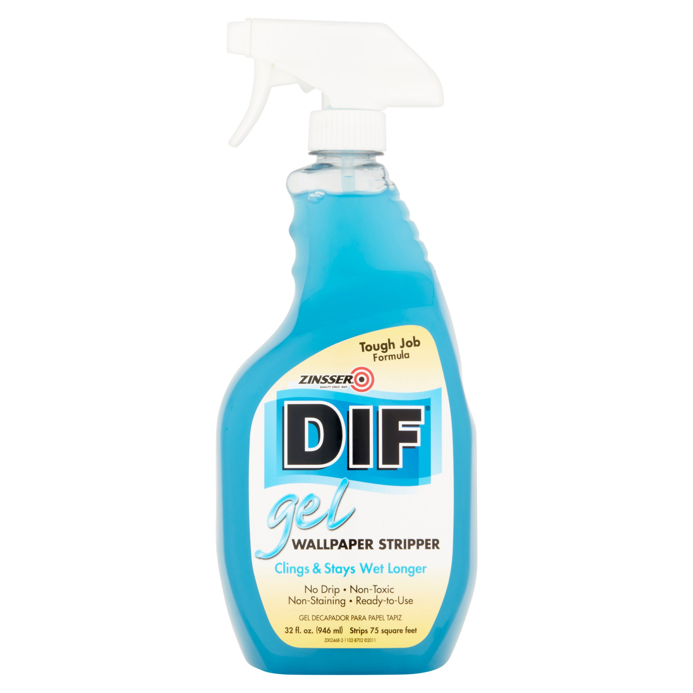 Zinsser DIF Gel Wallpaper Stripper, 32 fl oz