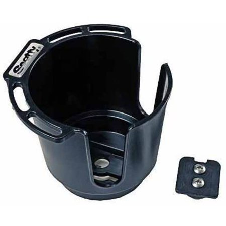 Scotty Cup Holder with Bulkhead/Gunnel Mount