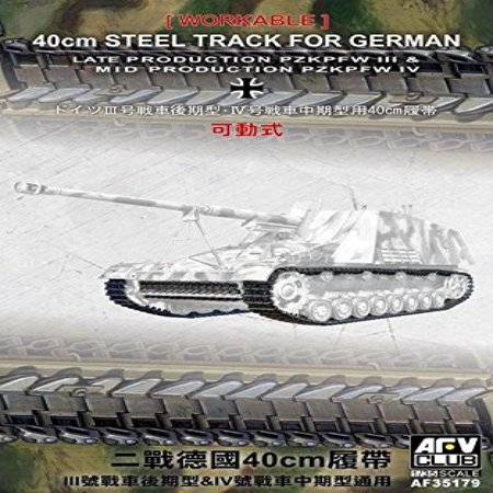 Pzkpfw Iii Late Prod Pzkpfw Iv Mid Prod 1942 45 40Cm Steel Type Workable Track Links 1 35 Afv Club