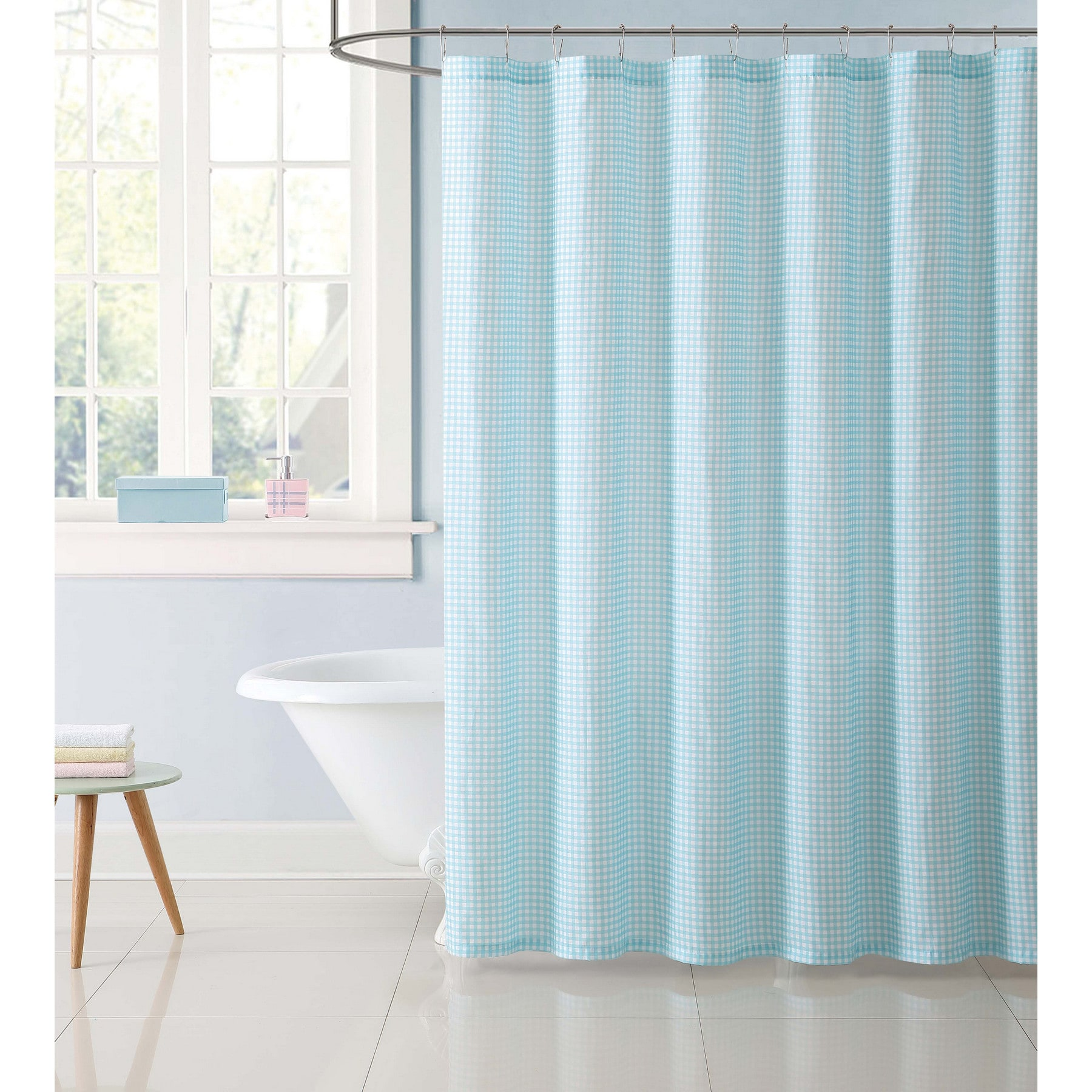 Gingham Shower Curtain by Laura Hart Kids
