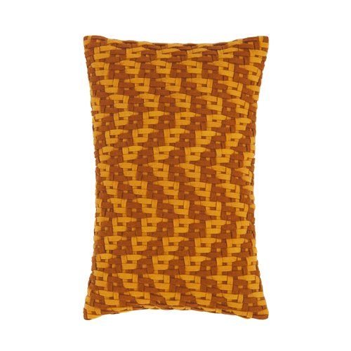 GAN RUGS Detroit Wool Lumbar Pillow