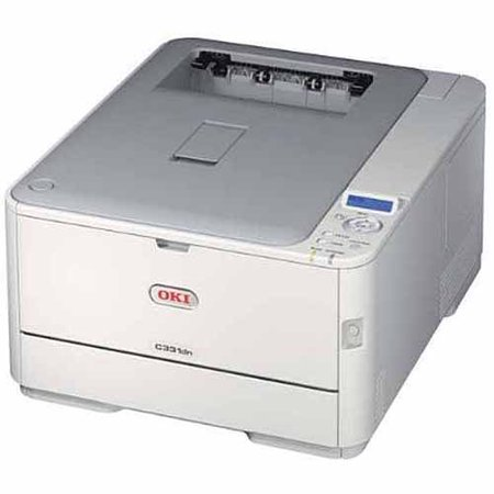 Oki C331DN LED Printer, Color, 1200 x 600 dpi Print, Plain Paper Print, Desktop