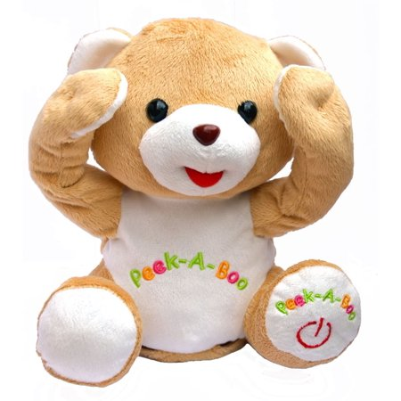 Cute Peek-a-boo Teddy Bear Animated Stuffed Animal By Bo - Animated Teddy Bears