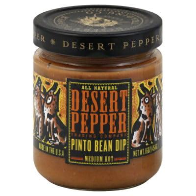 - Desert Pepper Pinto Bean Dip, Medium Hot, 16 Oz