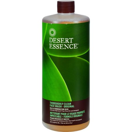 Desert Essence Thoroughly Clean Face Wash Original 32 Fl