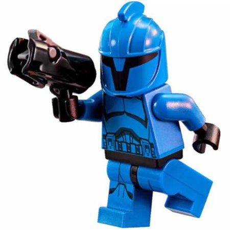 LEGO Star Wars The Clone Wars Senate Commando Minifigure [No Packaging] (Lego Star Wars Robots Minifigures)