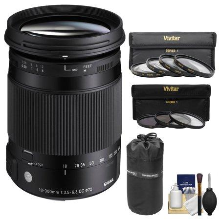 9a452e200d618 Sigma 18-300mm f 3.5-6.3 Contemporary DC Macro OS HSM Zoom Lens (for ...