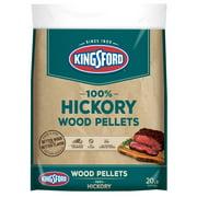 Kingsford 100% Hardwood Pellets for Grills, Hickory, 20 Pounds