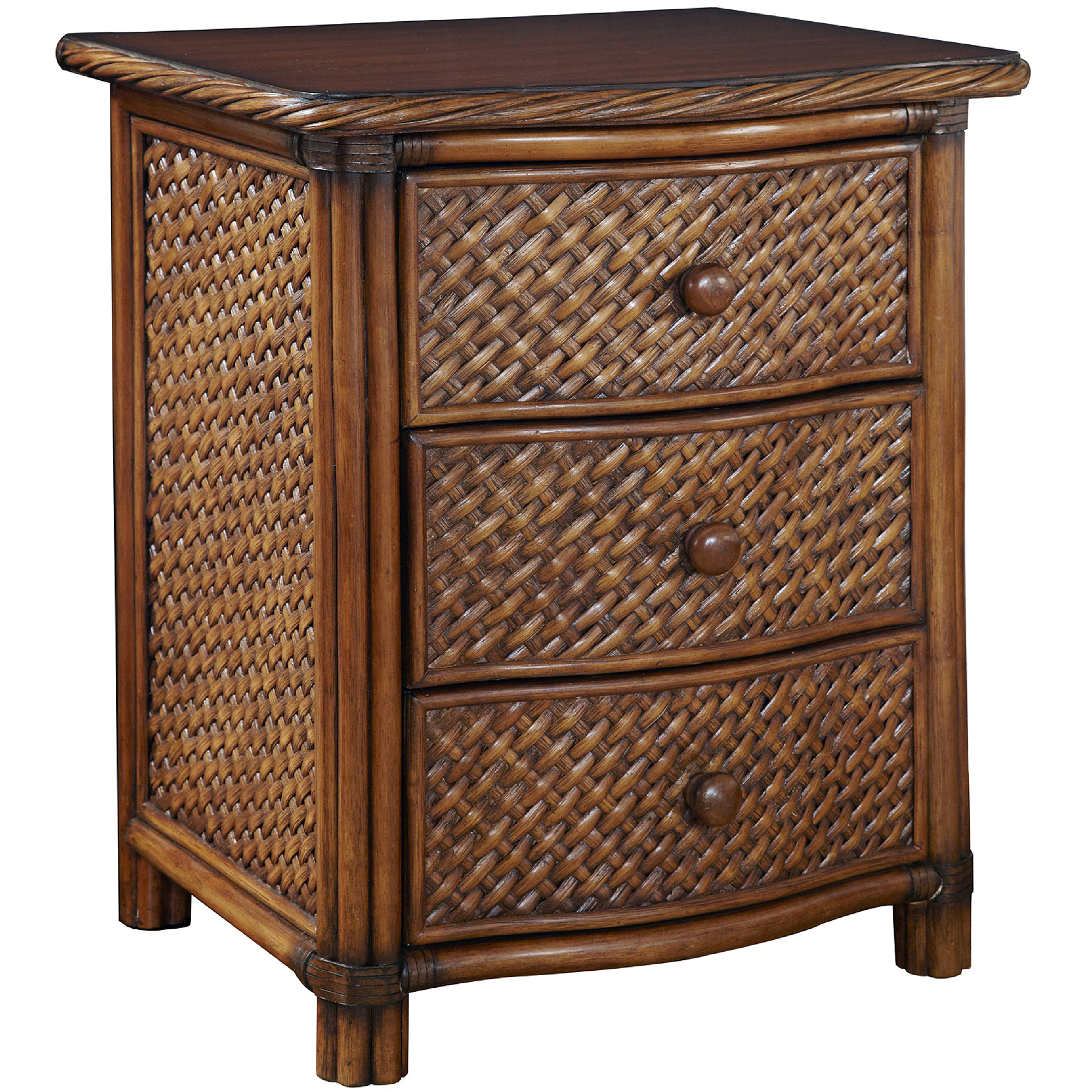 Marco Island Queen Bed, Night Stand and Chest