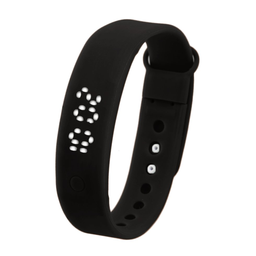 Multifunction 3D Pedometer Smart Bracelet Wristband Tracker for Android PC