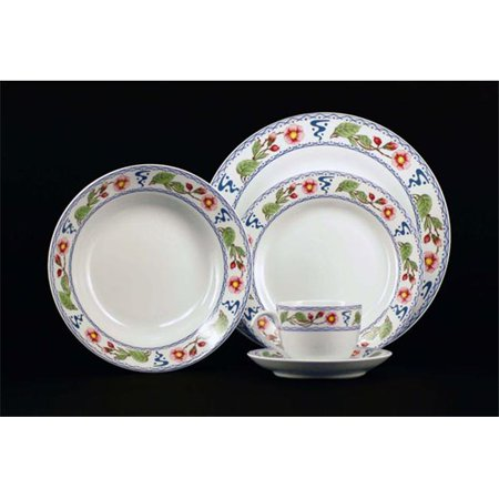 Euland China Fq 002Wr Wild Roses Dinnerware Set   Service For 8