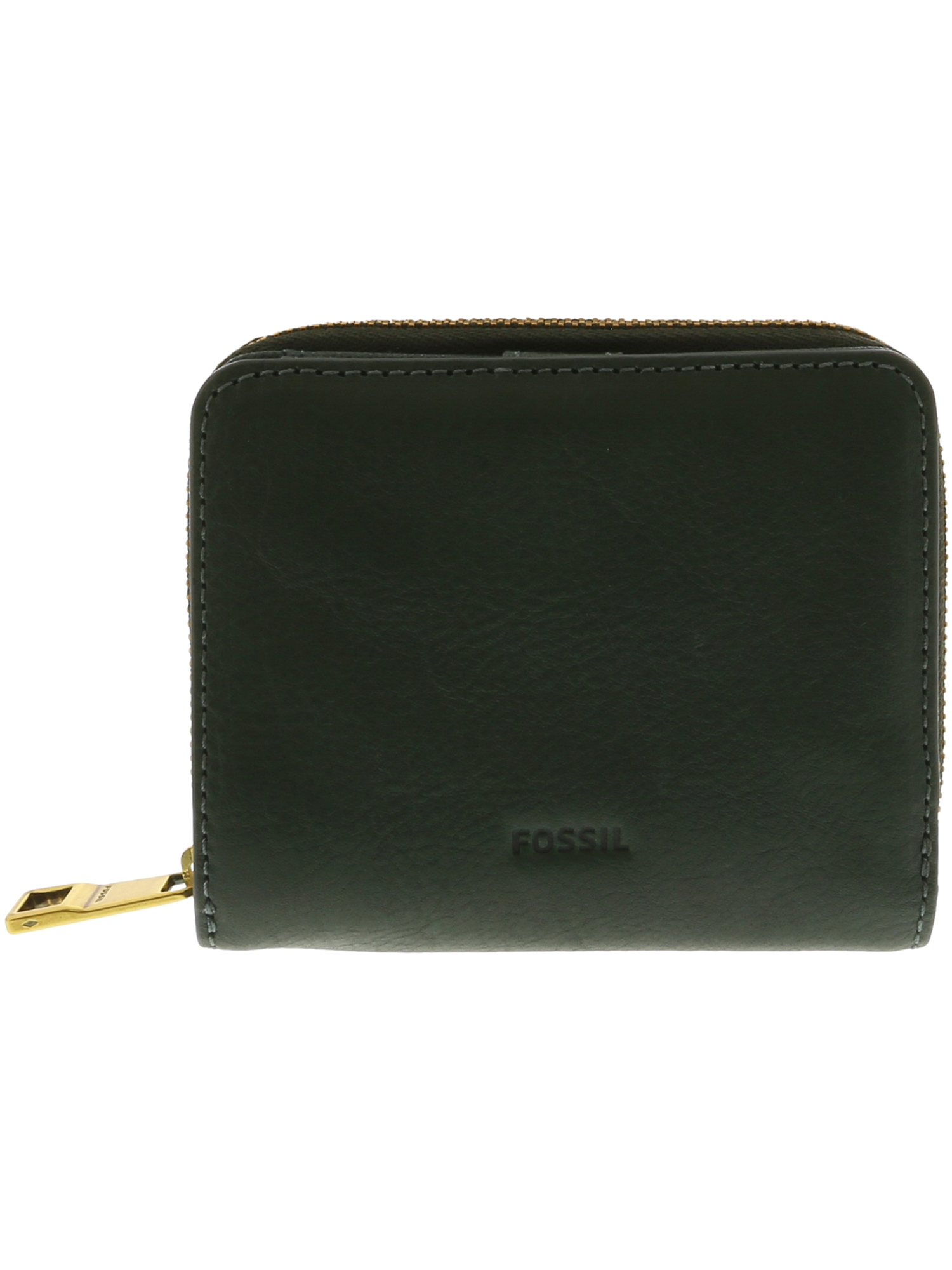 65bf87c656a Fossil Women's Mini Emma Rfid Multifunction Leather Wallet - Alpine Green